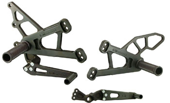 Woodcraft Rear Sets