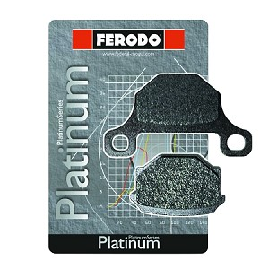 Ferodo Brake Pads - Rear Caliper - Platinum - 2074