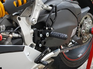 Ducati Panigale Woodcraft Rear Sets
